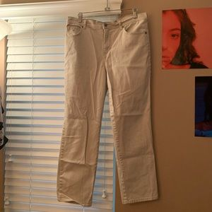 Gloria Vanderbilt Fitted Straight Leg Jeans